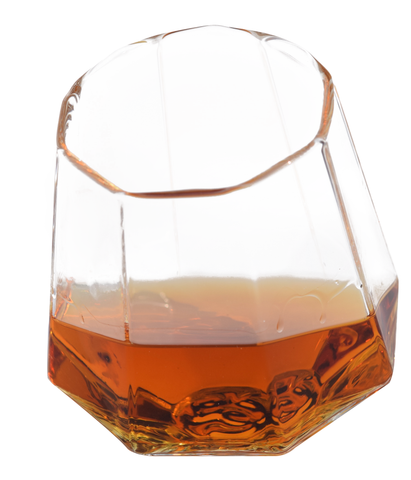 Diamond Shaped Whiskey Glass (Set of Two) - Please Allow 5 Days to Ship