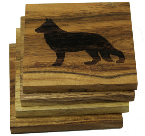 German Shepherd (Dog) Coasters