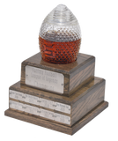 Perpetual Fantasy Football Trophy Decanter - Pass Along League Champion Trophy (Expected Delivery in November)