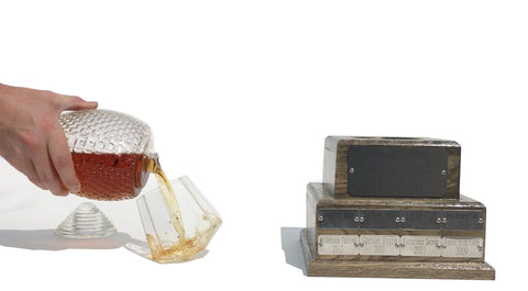 Perpetual Fantasy Football Trophy Decanter - Pass Along League Champion Trophy (1-2 Weeks to Ship)