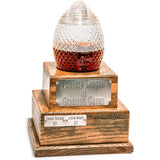 Perpetual Fantasy Football Trophy Decanter - Pass Along League Champion Trophy (Approx. 1 Month Backorder)
