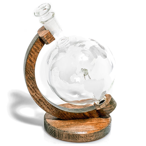 Submarine Within 1000ml Etched Globe Liquor/Wine Decanter - (Los Angeles Class Submarine Decanter)