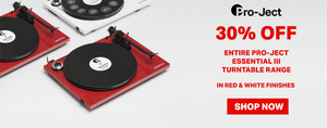 Pro-Ject Red & White Sale