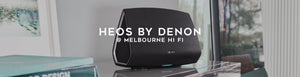 Shop Heos by Denon multi-room speakers at Melbourne Hi Fi, Australia