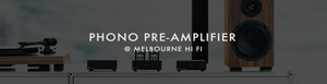 Shop Phono Pre-Amplifiers at Melbourne Hi Fi today