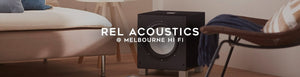 Shop REL Acoustics subwoofers and accessories at Melbourne Hi Fi, Hawthorn