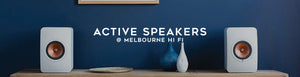 Shop active and powered speakers at Melbourne Hi Fi, Australia