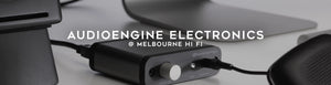 Audioengine electronics at Melbourne Hi Fi, Australia