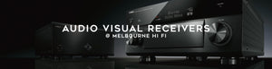 Shop AV Receivers online at Melbourne Hi FI, Australia