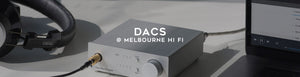 Buy digital to analogue converters (DACs) online at Melbourne Hi Fi