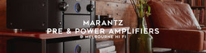 Marantz Pre & Power Amplifiers