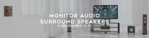 Monitor Audio: Surround dipole speakers - Melbourne Hi Fi