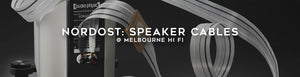 Shop nordost speaker cables at Melbourne Hi Fi Australia