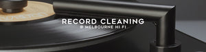 Vinyl Record Cleaning Accessories available at Melbourne Hi Fi