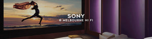 Sony projectors and tvs at Melbourne hi fi, Australia