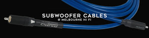 Shop subwoofer cables online at Melbourne Hi Fi, Australia