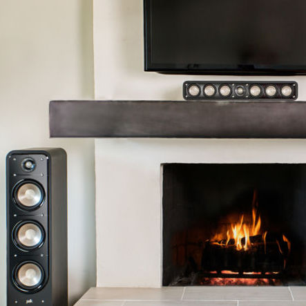 Polk audio home theatre package at Melbourne Hi Fi online Australia