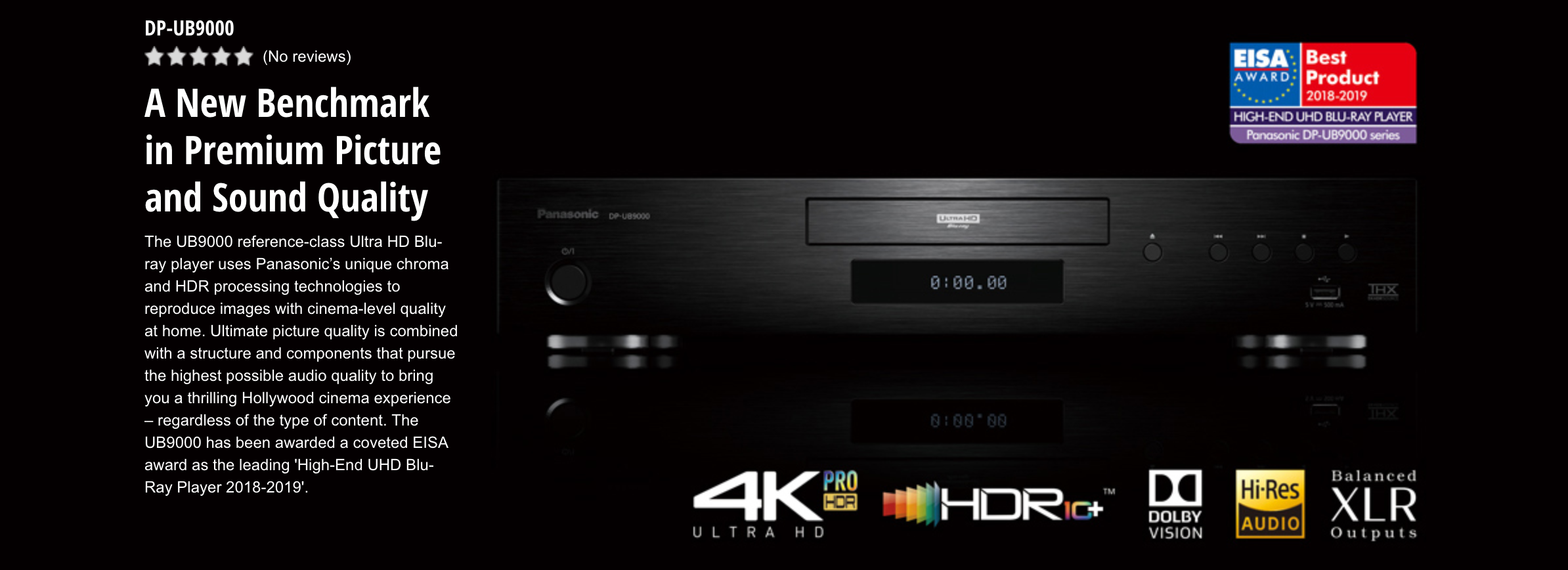 Panasonic Dp Ub9000 Blu Ray Player Melbourne Hi Fi