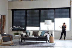 Automated blinds and doors Melbourne hi fi