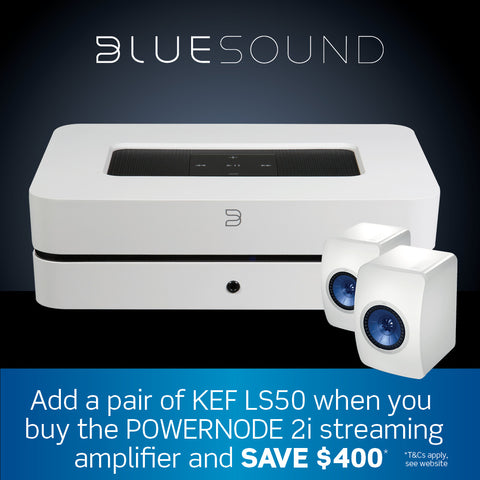Bluesound promo melbourne hi fi