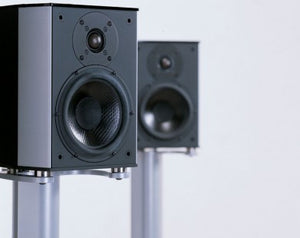 Wilson Benesch Arc Loudspeaker inc Stands Display | Melbourne Hi Fi | Hawthorn VIC