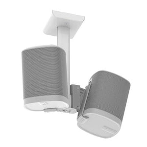 Flexson Ceiling Mount for Sonos Play 1 - White (Double)