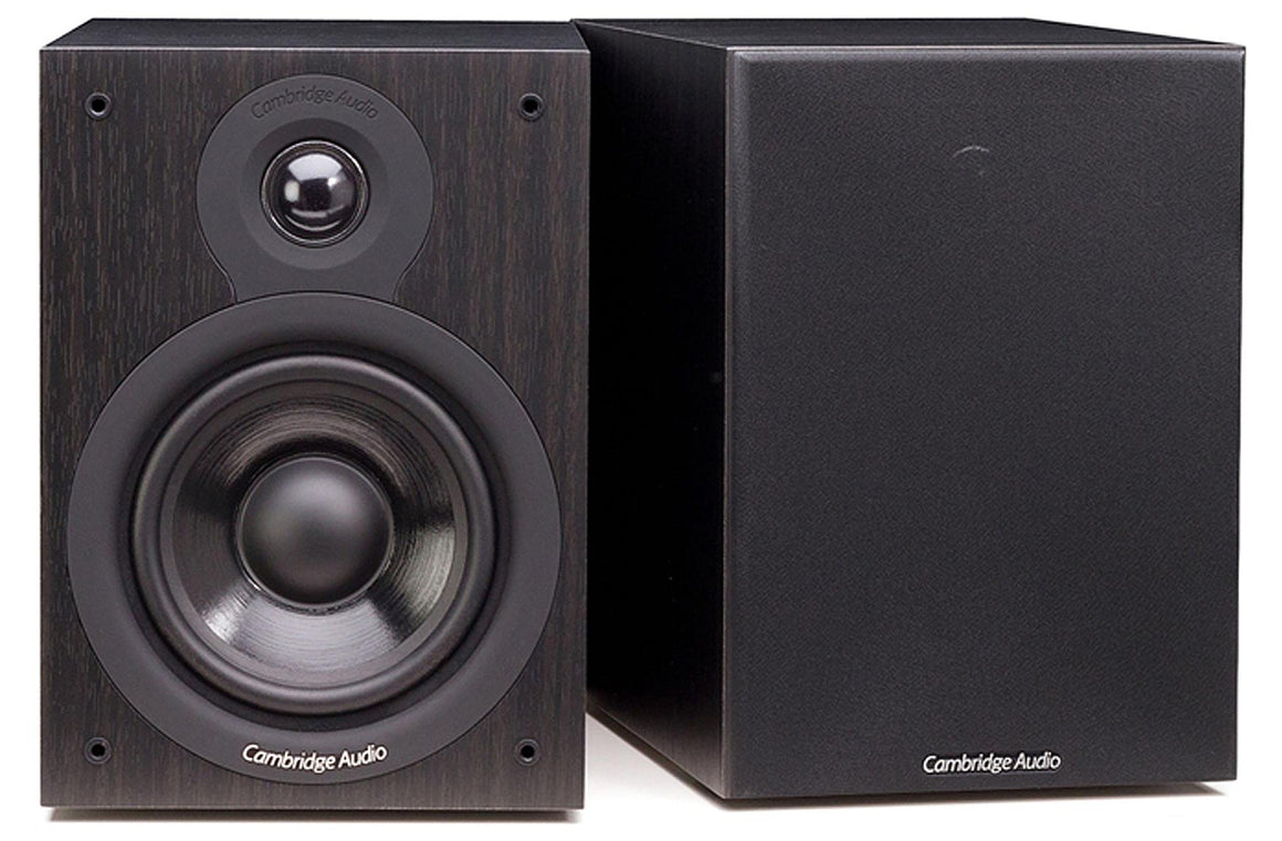 Cambridge Audio SX50 Bookshelf Speaker - Black at Melbourne Hi Fi, Australia