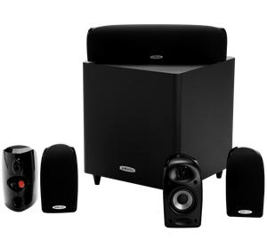 Polk Audio TL1600 5.1 Series speaker pack - 6-piece home theatre