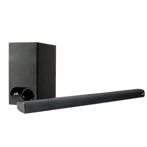 Polk Audio Signa S1 Sound Bar and Subwoofer Package - Black