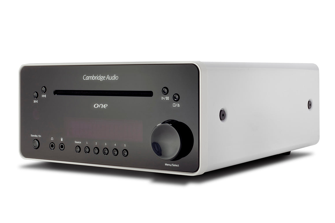 Cambridge Audio One All in One Music System White at Melbourne Hi Fi, Australia