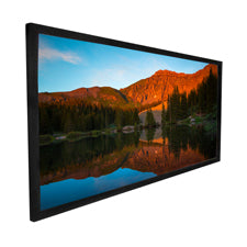 Dragonfly - AcousticWeaveTM Projection Screen with Black Velvet Frame
