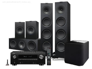 KEF QM home theatre pack - melbourne hi fi