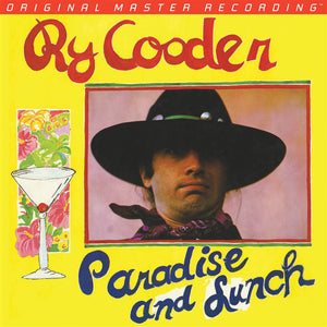 Ry Cooder - Paradise and Lunch - Melbourne Hi Fi