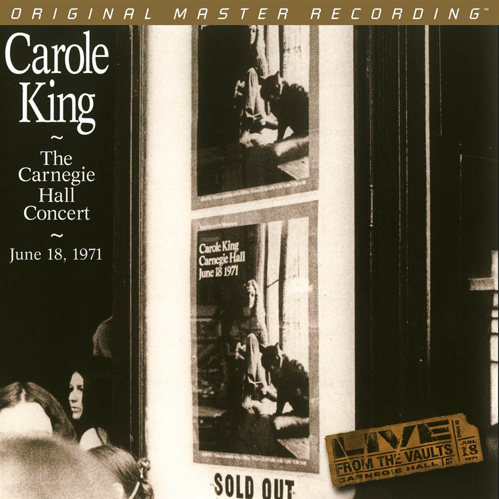 MoFi: Carole King - The Carnegie Hall Concert 2LP - Melbourne Hi Fi