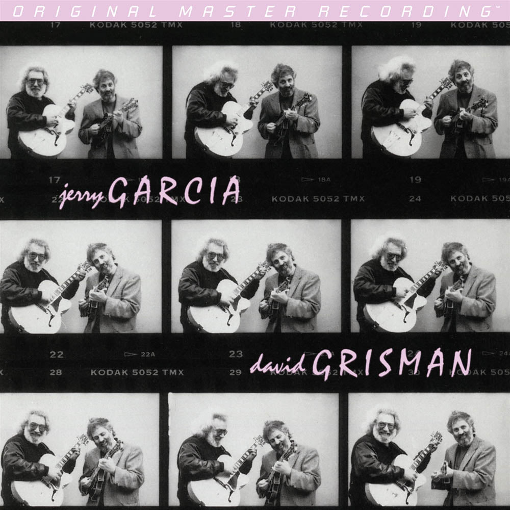 Jerry Garcia and David Grisman - Garcia/Grisman 2LP - Melbourne Hi Fi