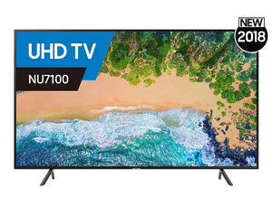 Samsung NU7100 43-inch (108 cm) 4K UHD Smart LED TV (ex display)
