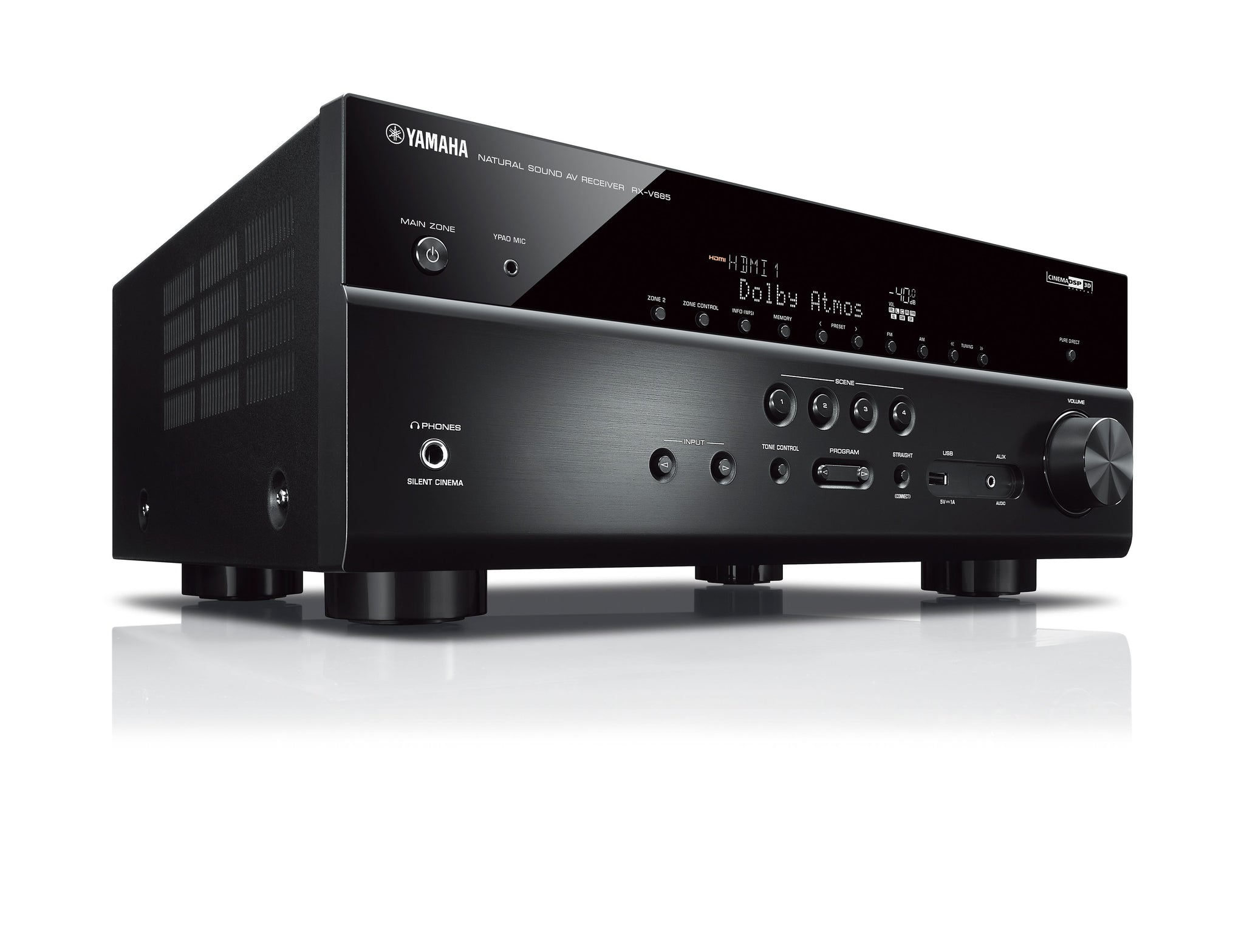 Yamaha RX-V685 - 7 2-channel AV Receiver