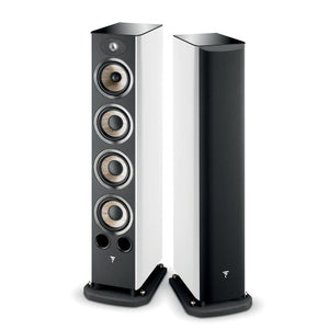 Focal Aria 936 Floor Standing Speakers -  High Gloss White