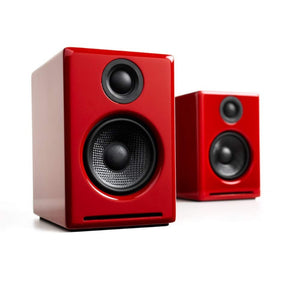 Audioengine | A2+ Powered Speakers Red Open Box | Melbourne Hi Fi1