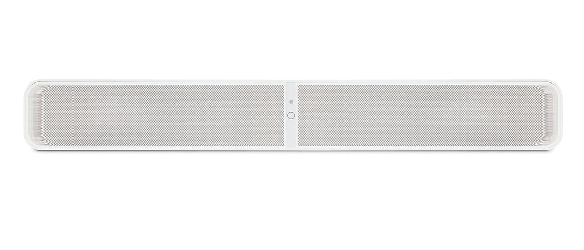 Bluesound PULSE Soundbar (White) at Melbourne Hi Fi, Australia