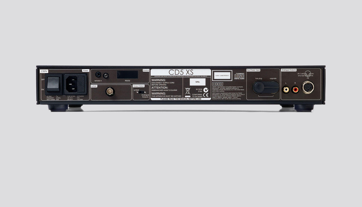 Naim Audio CD5XS Compact Disc Player | Melbourne Hi Fi | Hawthorn VIC