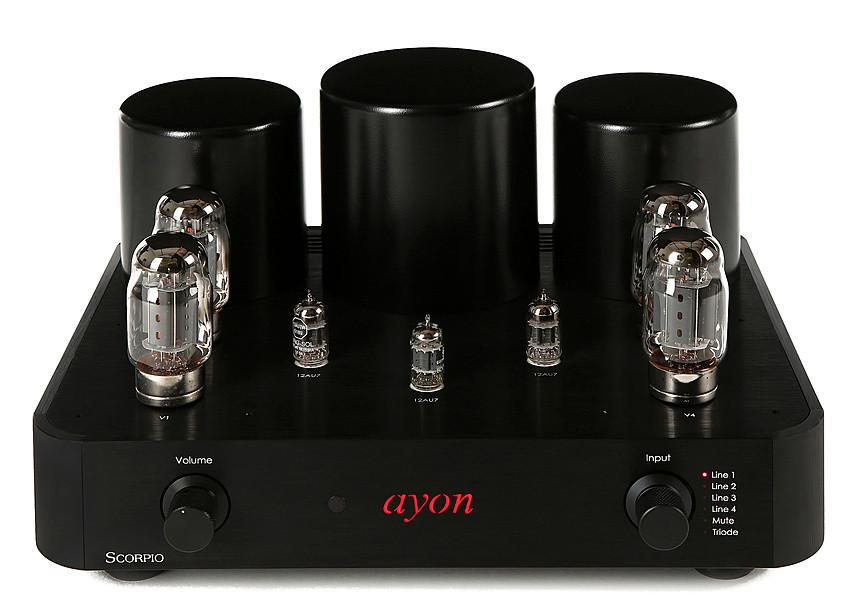 Ayon Audio Scorpio Integrated Amplifier KT88 Series at Melbourne Hi Fi, Australia