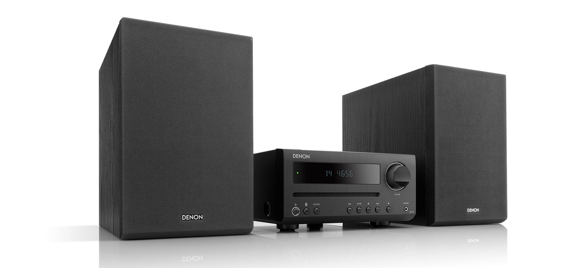 Denon D-T1 - Hi-Fi Mini System with CD and Bluetooth