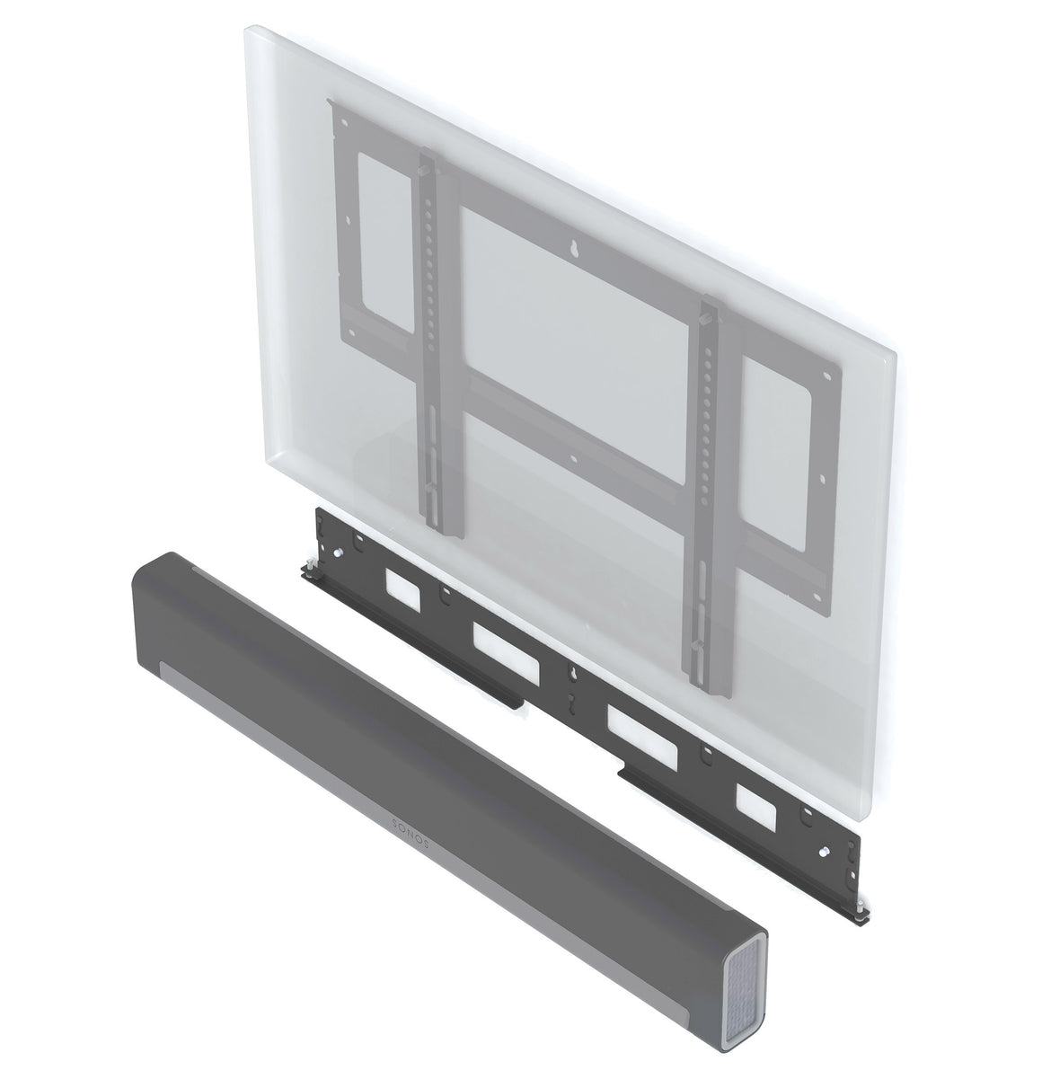 Flexson | Flat To Wall Mount for Sonos Playbar/TV |  Melbourne Hi Fi1