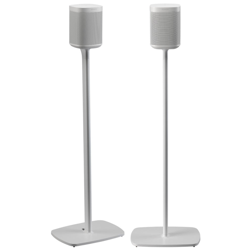 Flexson | P1-FXS2 Floorstands for Sonos Play One White Open Box | Melbourne Hi Fi