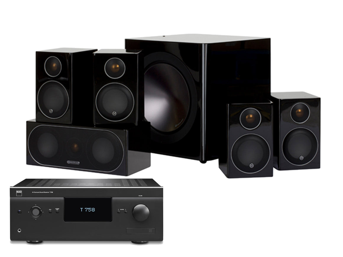 Monitor Audio: Full Radius - 5.1 Ch Home Theatre Pack