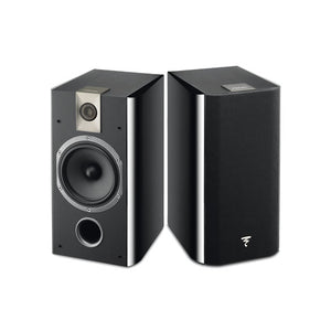 Focal Chorus 605 Bookshelf Speakers - Black