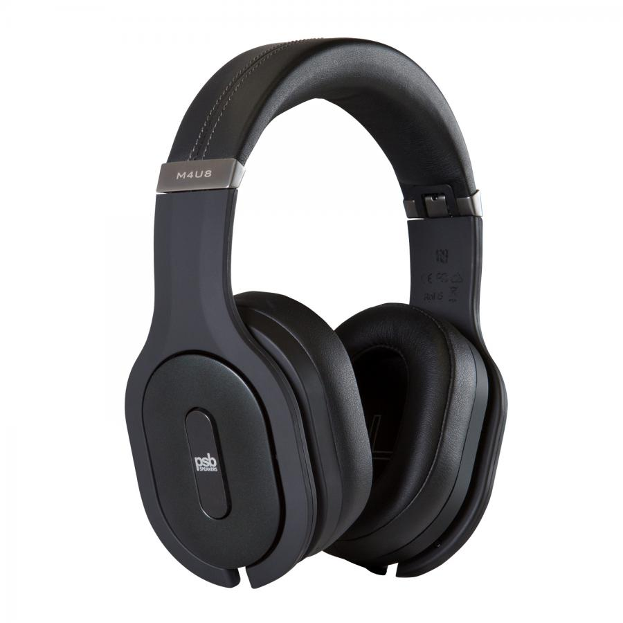 PSB Speakers M4U-8 Wireless Headphones with Active Noise Cancelling