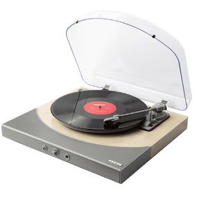 ION | Premier LP Natural Wood Turntable | Melbourne Hi Fi1