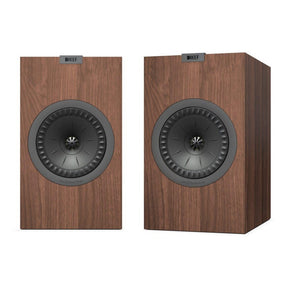 KEF | Q350 Bookshelf Speakers Walnut Open Box | Melbourne Hi Fi
